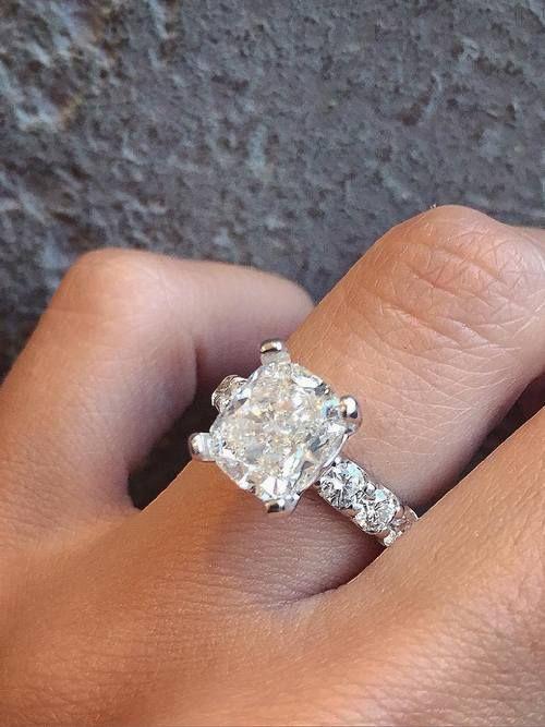 Trendy Diamond Rings :    Engagement ring and wedding rings from Jean Pierre Jewelers / www.deerpearlflow…  - #Rings https://youfashion.net/wedding/rings/diamond-rings-engagement-ring-and-wedding-rings-from-jean-pierre-jewelers-www-deerpearlflow-2/