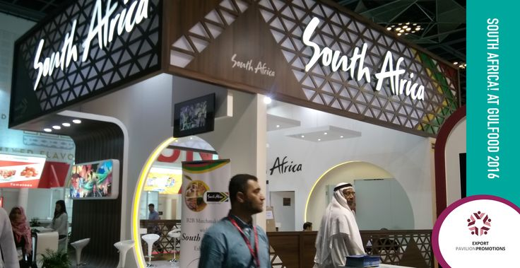 Are you a South African company looking to exhibit your food and beverage products overseas? Contact Export Pavilion Promotions ! Don't be shy - +27 12 771 8510 or admin@expavpro.co.za  #gulfood2016 #tradeshow #expo #exhibitoverseas #growyourbusiness #southafricanproducts