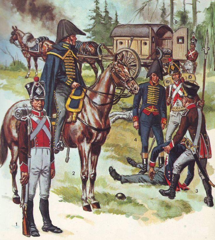 French ambulance and medics 1805 - 1812