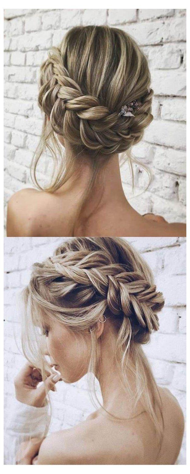 145 Exquisite Wedding Hairstyles For All Hair Types 145 Exquisite Wedding Hairstyles For All Hair Types In 2020 Bridal Hair Updo Short Hair Updo Elegant Wedding Hair