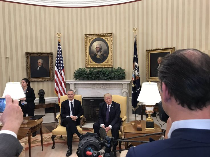 REMARKS BY PRESIDENT DONALD TRUMP AND NATO SECRETARY GENERAL JENS STOLTENBERG IN JOINT PRESS CONFERENCE White House East Room [Transcript] 4:03 P.M. EDT – PRESIDENT TRUMP: Thank you. Secretar…