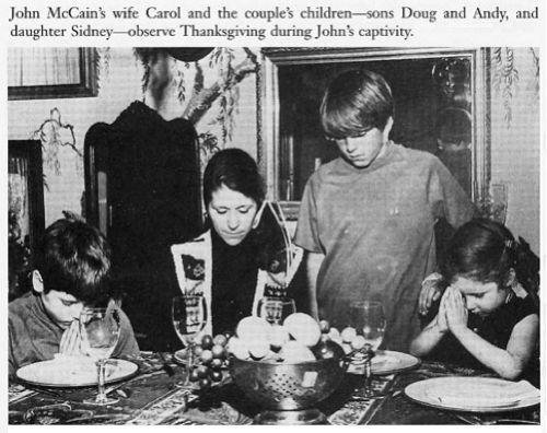 john mccains first wife | ... McCain, Senator John McCain's first wife with Doug, Andy and Sidney