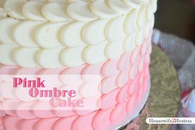Housewife 2 Hostess : Pink Ombre Cake
