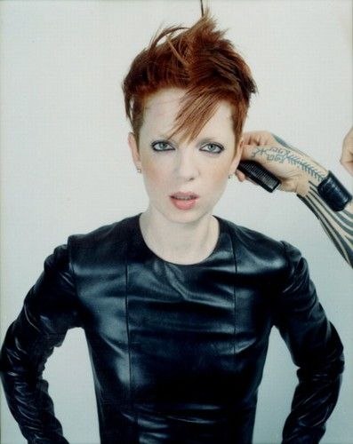 Shirley manson short hair androgyny