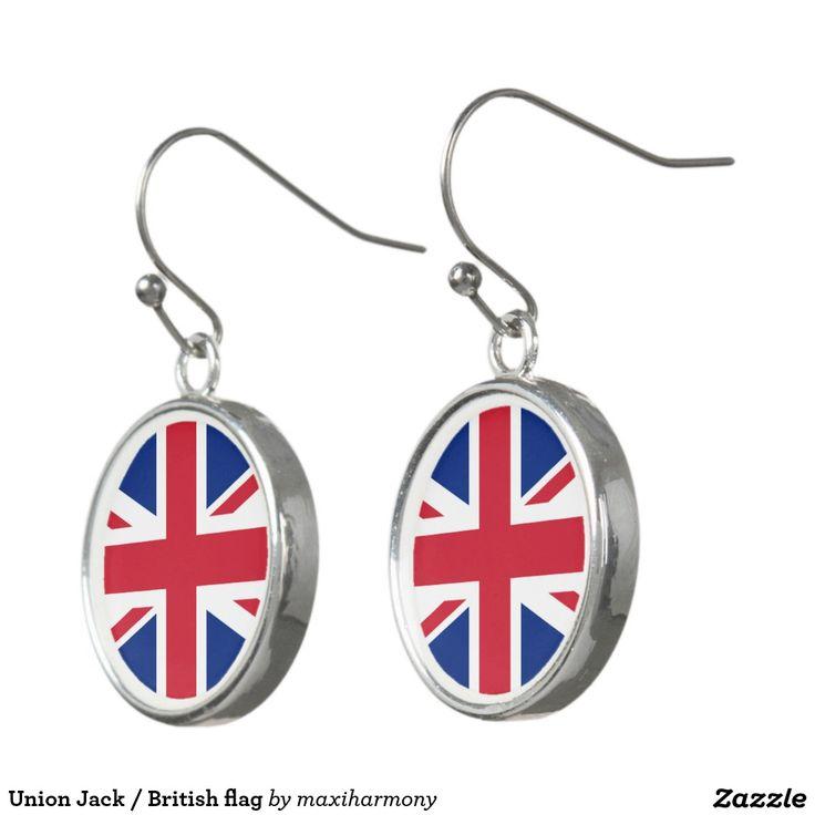 Union Jack / British flag Earrings