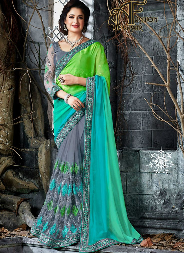 Chiffon Sarees Party Wear