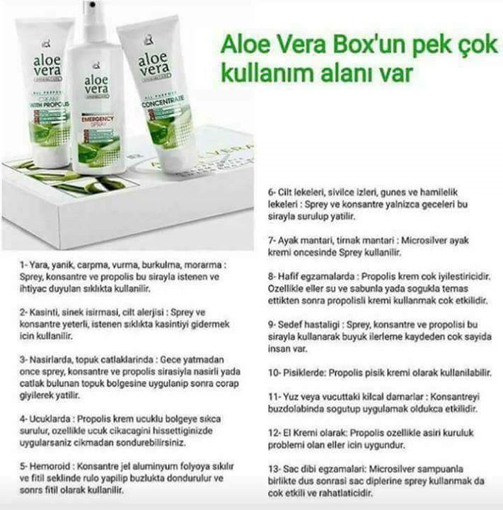 Şu gördüğünüz 3 ürün herşeye mi iyi gelir arkadaş yaaaa... Box seti anlatamam yaşamanız lazım... #aloevera #vitamins #minerals #cosmetics