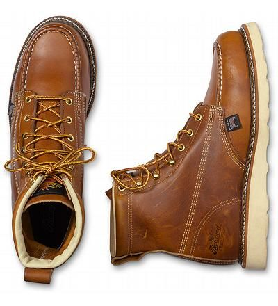 Thorogood® Moc Toe Boots only $73 at EddieBauer.com