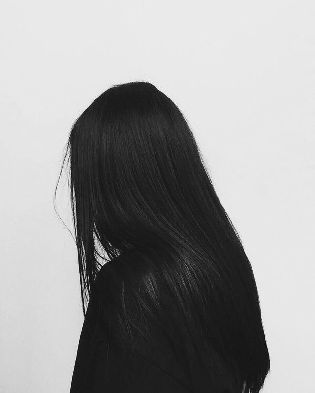 Aether With Black Hair Art Girl Anime Art Girl Long Hair Styles