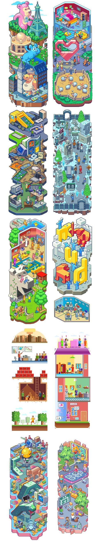 Pixel arts vol.2 by Sergey Kostik