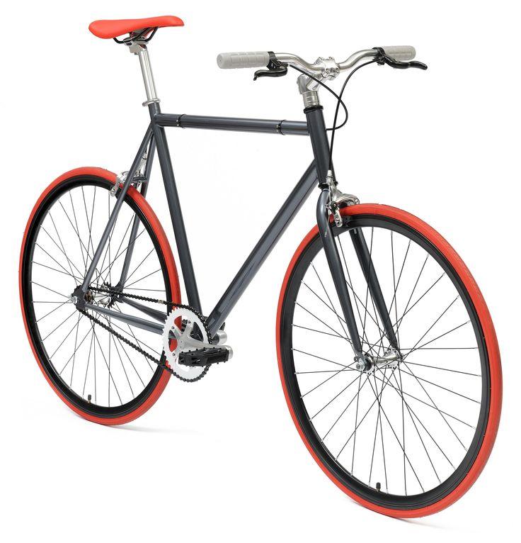 De NO NAME GREY/RED STREETBIKE fixed gear is een sportieve en zeer moderne fixed gear fiets voor het alledaags gebruik. Of u nou op weg bent naar het werk of naar de winkel deze NO NAME GREY/RED STREETBIKE fixed gear brengt u snel overal heen. De NO NAME GREY/RED STREETBIKE fixed gear is zeer licht en gemaakt en uitermate geschikt voor vervanging van vervoer in de stad. Al met al de single speed fiets of fixed gear fiets die bij u past. In vele kleuren beschikbaar.single speed/fixed ...