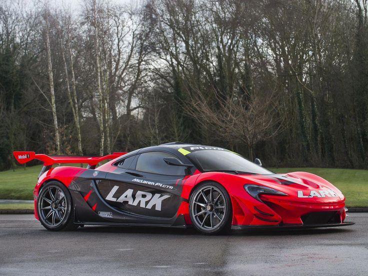 Unique Lark Livery McLaren P1 GTR Is The UK's Most Prized