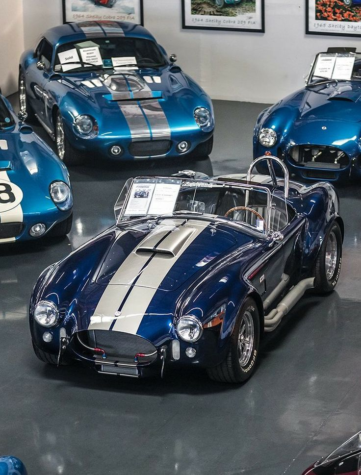 AC Cobra | Gentleman's Cars | Pinterest