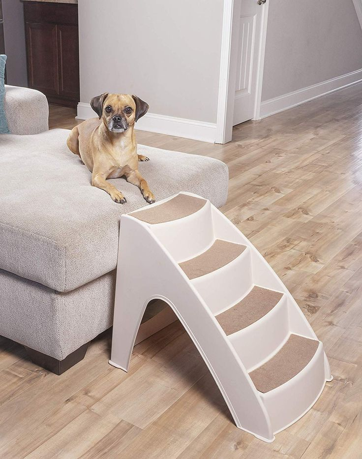 PetSafe Solvit PupSTEP Lite Pet Stairs, Steps for Dogs and