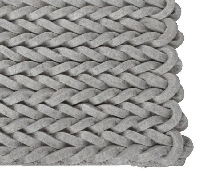 Vloerkleden!! Carpet Nienke light grey by Zuiver at stealtheroom.com