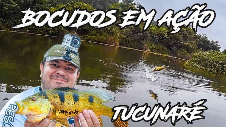 Bocudos em Ação - Tucunas do Guandu  - Pesca de Caiaque - Salto do Tucunaré