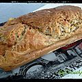 cake chèvre noix 2- Recettes salées - Aglibouly