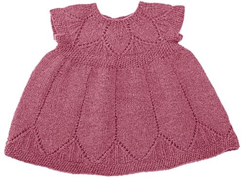 Clara Dress Knitting Pattern : 95 Best images about Knitting for babies on Pinterest Free pattern, Bonnet ...