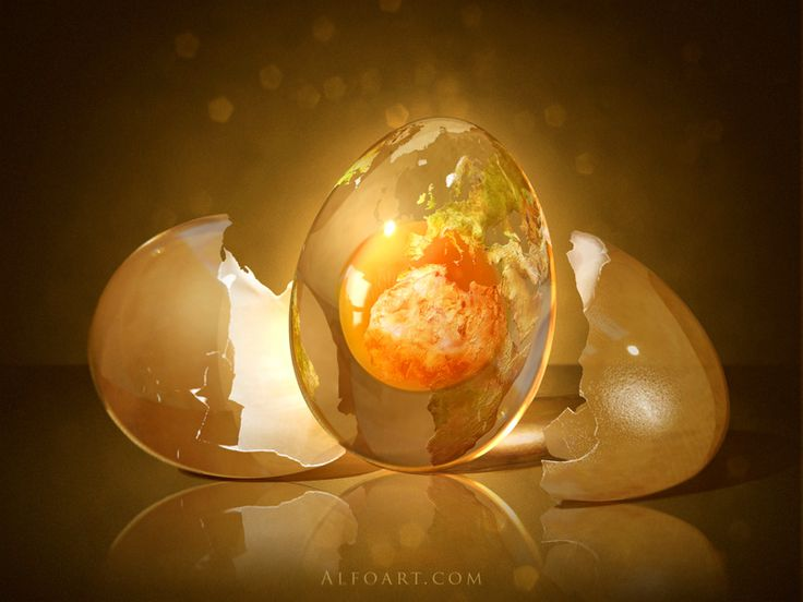 Cracking the Cosmic Egg: Achieving Authentic Spiritual Power Over Religious Pseudo-power.