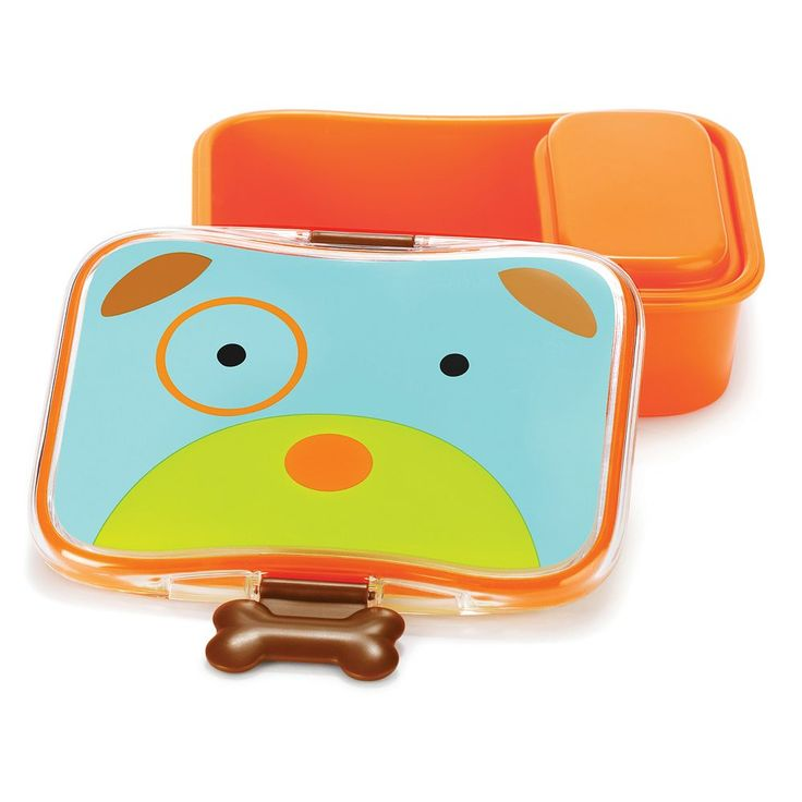 Skip Hop Zoo 24-ounce Lunchbox Kit, Multicolor