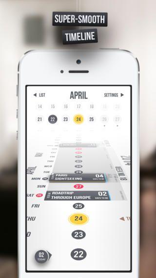 Overview Calendar iPhone Screenshot 1