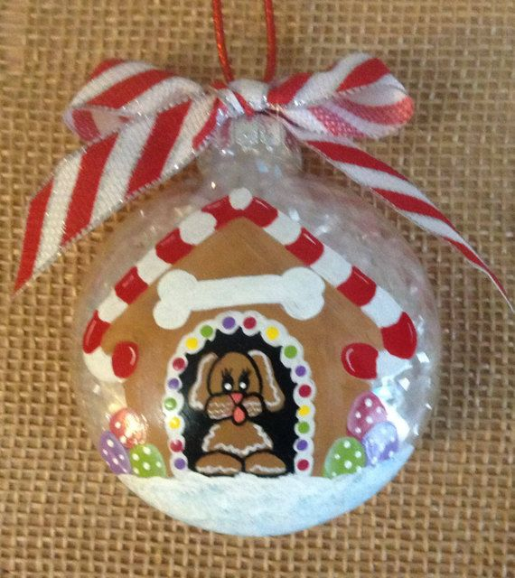 11 best Personalized painted Christmas ornament images on