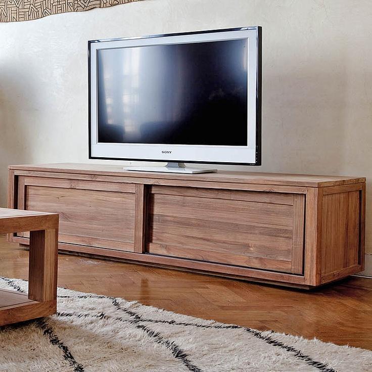 "Teak Pure TV Cabinet 57"""