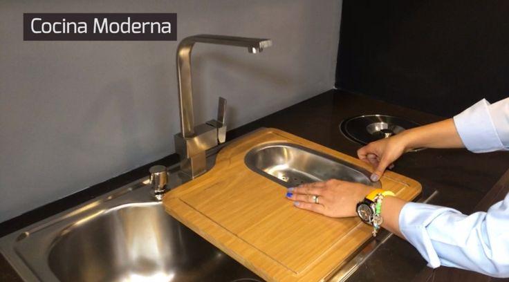 Conoce cómo es una cocina social y tecnológica. Lavaplatos. cocina. Encuentra dónde comprar este diseño y Producto en Colombia.