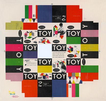 http://pinterest.com/pin/create/button/?url=http://www.baubauhaus.com/image/39751=http://static.baubauhaus.com/assets/39751_415.jpg: Graphic Design, Eames Offices, Toys Boxes, Box Covers, Graphics Design, Creative Review, Boxes Covers, Toy Boxes, Ray Eames