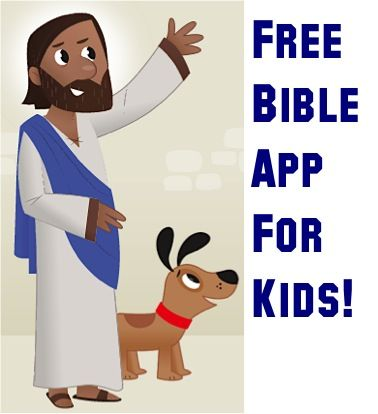 FREE Holy Bible iPhone & Android App for KIDS! {youversion}