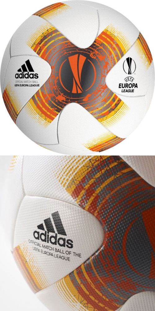 Balls 20863: Adidas Uefa Europe League Official Match Ball 2017 18 Authentic -> BUY IT NOW ONLY: $60 on eBay!