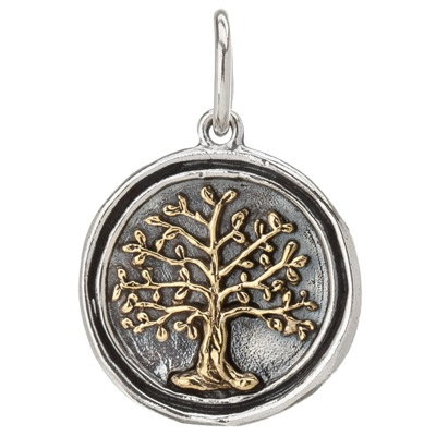 Waxing Poetic Charm Wing and a Prayer Tree of Life #laylagrayce: Poetic Charms, Waxing Poetic, Wax Poetic, Prayer Charms, Wings, Trees Of Life, Prayer Trees, Jewelry, Tree Of Life