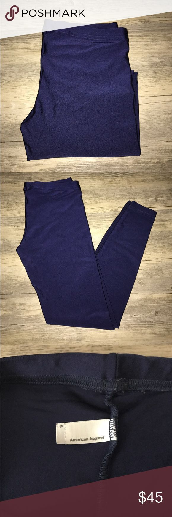 AMERICAN APPAREL RETRO DISCO PANTS ELECTRIC BLUE AMERICAN APPAREL RETRO DISCO PANTS SHINY ELECTRIC BLUE SZ:S! GREAT CONDITION, WORN ONCE‼️‼️ NO TRADES‼️ AS IS‼️‼️ FINAL SALE‼️ American Apparel Pants Leggings