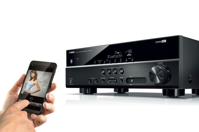 Yamaha RX-V379 AV Receiver Places 4K, HDCP 2.2 and #Bluetooth® within Reach of More Home Theater Fans