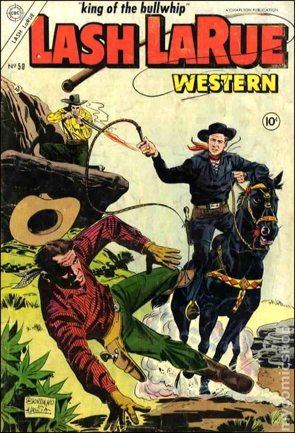 LASH LA RUE | Lash Larue Western (1949) comic books