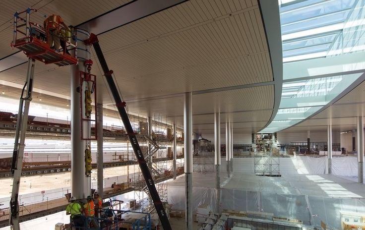 Seit Baubeginn haben wir bereits zahlreiche Bilder und Fotos rund um den Apple Campus 2 zu Gesicht bekommen.