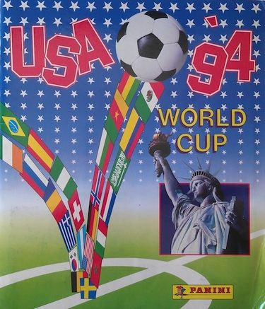 Panini World Cup USA 94 Sticker Album #worldcup #paninistickers