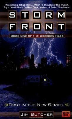 Storm Front (The Dresden Files, #1). My husband and I found this book on a new author table right after getting married in 2002. It has magic, suspense, mystery and everything in between. Love this series and author!