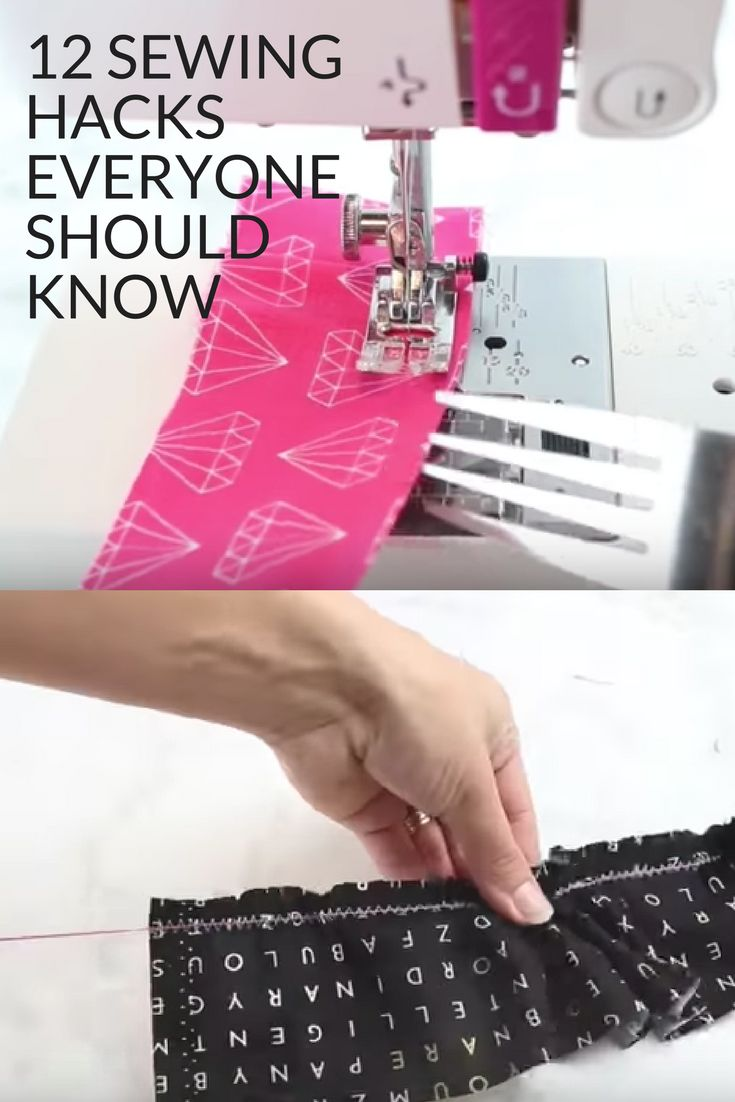 12 Sewing Hacks Everyone Should Know