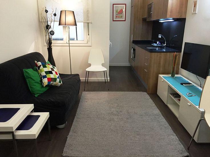 appartamento in Sant Marti in affitto per 4 persone da €69 Annuncio n° 1086120. Ottimo appartamento con una camera, di recente costruzione, molto m ...