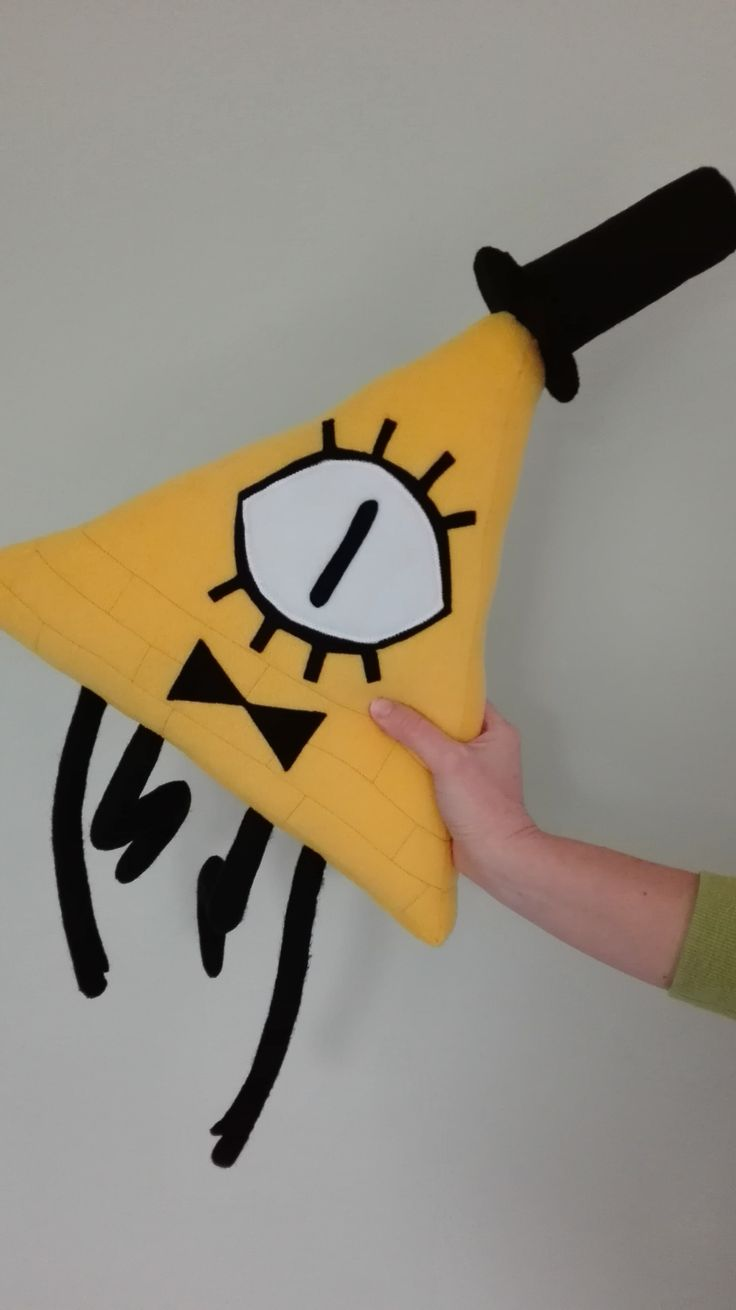 Ever wanted to make a Bill Cypher plush? Here's how! [[MORE]]You'll need: - yellow fabric for the base (I prefer fleece, but you can use any soft fabric) - white and black fabric for the details (I...