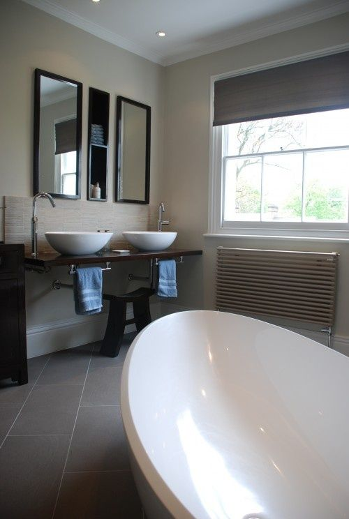 No Space Around The Sink For A Towel Bar? Here's Your Solution... — DESIGNED w/ Carla Aston