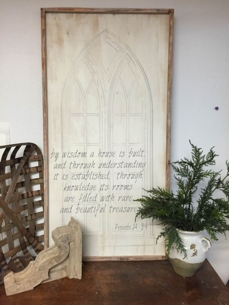 by wisdom a house is built, Proverbs 24:3-4  Extra Large vintage looking sign by kspeddler on Etsy https://www.etsy.com/listing/266877068/by-wisdom-a-house-is-built-proverbs-243