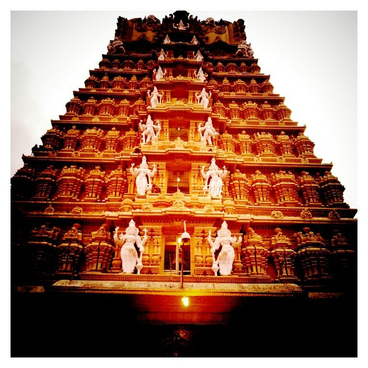 South Indian temple.