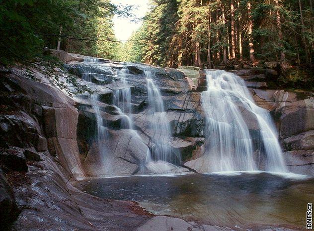 Krkonoše, Mumlavský vodopád