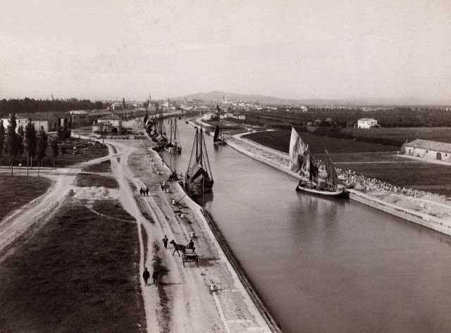 Il porto canale di Rimini agli inizi del 1900 - Foto di Rimini Sparita | Come eravamo: viaggio tra le foto d'epoca delle nostre città