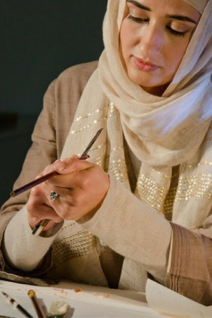 Soraya Syed is a classically trained Islamic calligrapher who pushes the paradigm of classical calligraphy, while respecting the traditional foundations of the art.