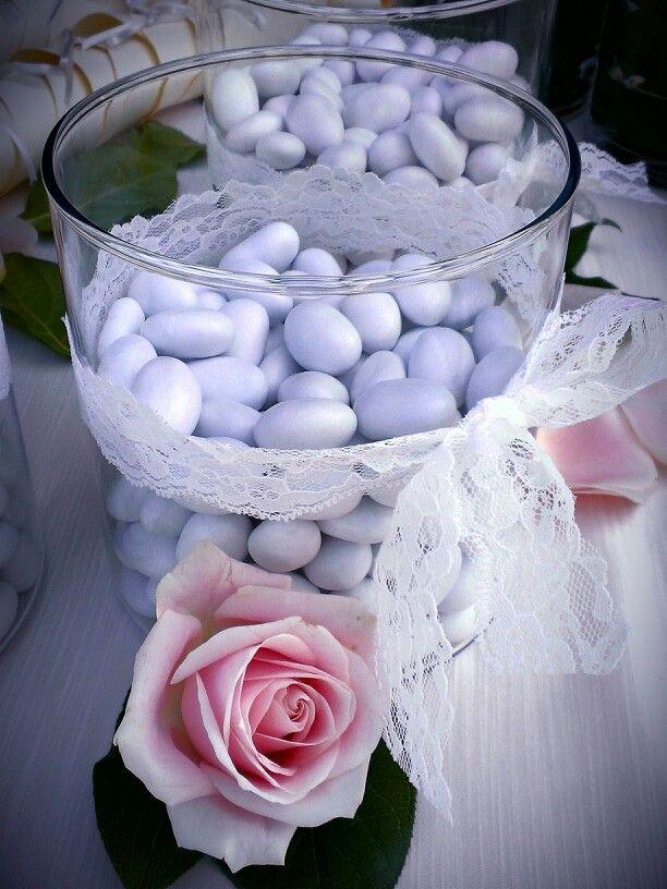 Italian Confetti, sugar almonds and love