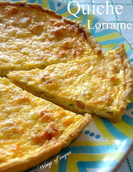 Quiche Lorraine ricetta