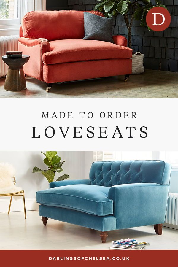 Our Darlings Loveseats Are Made To Order To The Highest Standard And Are Available In Either Modern Or Trad In 2020 Love Seat Leather Corner Sofa Sofa Bed With Storage